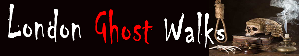 The London Ghost Walks header banner.